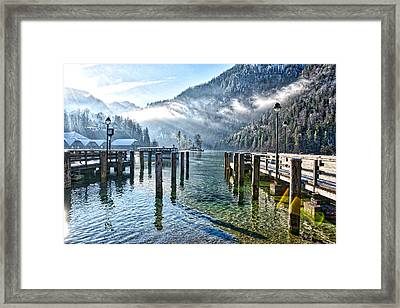 Sunny Winter Morning Framed Print