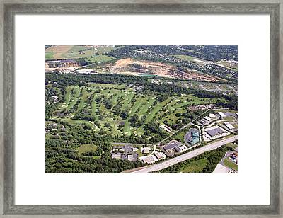 Sunnybrook Golf Club Golf Course Framed Print by Duncan Pearson