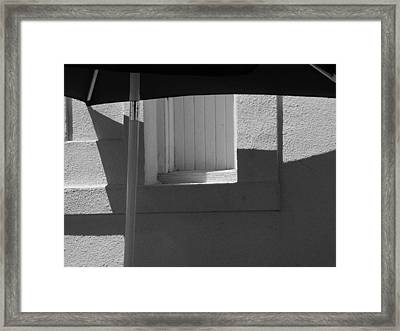 Sunnyside Shade Framed Print