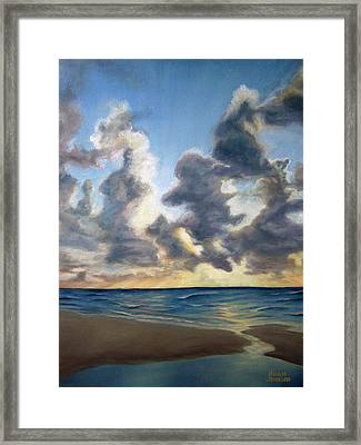 Sunrise 01 Framed Print