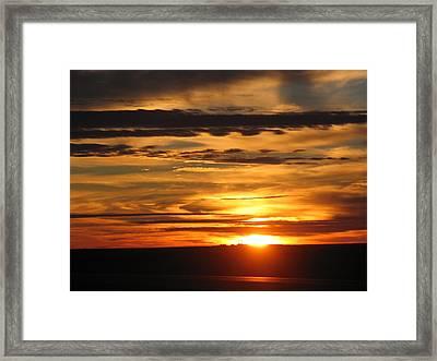 Sunrise 1 Framed Print