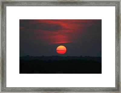 Sunrise 2 Framed Print