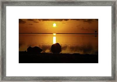 Sunrise 2 Framed Print by John Vincent
