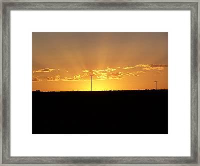 Sunrise 3 Framed Print by Travis Wilson