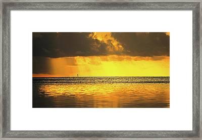 Sunrise 4 Framed Print by John Vincent