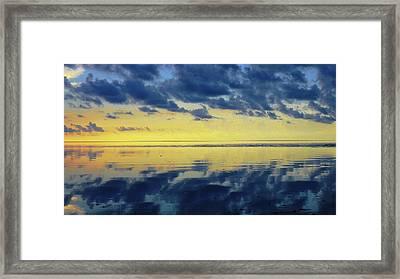 Sunrise 5 Framed Print by John Vincent