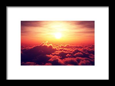 Rising Framed Prints