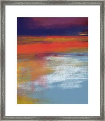 Sunrise Abstract Framed Print