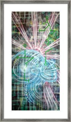 Sunrise Aia Framed Print by Leigh Odom