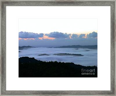 Framed Print featuring the photograph Sunrise by The Art of Alice Terrill