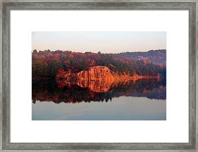 Sunrise And Harmony Framed Print by Debbie Oppermann