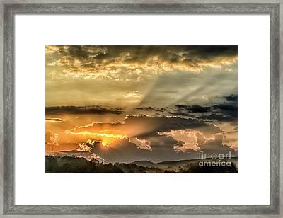 Sunrise Arise Shine Framed Print by Thomas R Fletcher