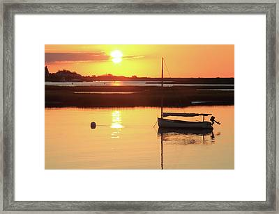 Sunrise At Bass River Framed Print