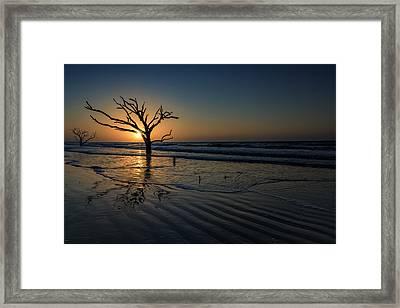 Sunrise At Botany Bay Framed Print