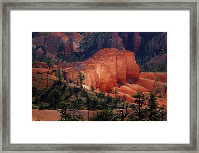Framed Print featuring the photograph Sunrise At Bryce Canyon by Donna Kennedy