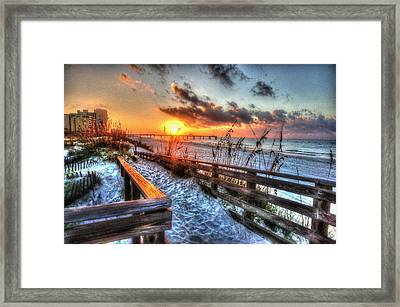 Sunrise At Cotton Bayou  Framed Print
