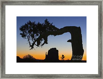 Sunrise At East Mitten Framed Print by Jerry Fornarotto