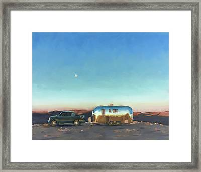 Sunrise At Gooseneck Canyon. Framed Print