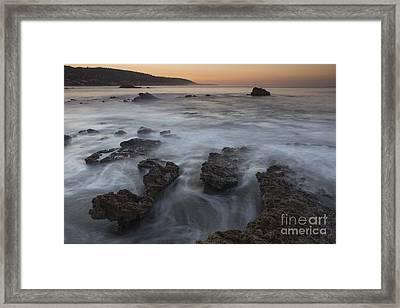 Sunrise At Laguna Beach II Framed Print by Keith Kapple