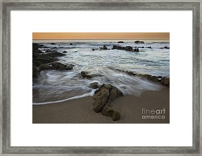 Sunrise At Laguna Beach Framed Print by Keith Kapple