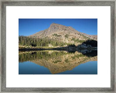 Sunrise At Lawn Lake Framed Print by Kunal Mehra