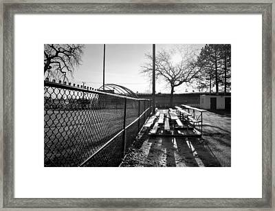 Sunrise At Lions Field Framed Print