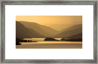 Sunrise At Loch Maree Framed Print