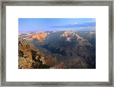 Sunrise At Mather Point  --  Grand Canyon  Framed Print