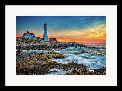 Gulf Of Maine Framed Prints