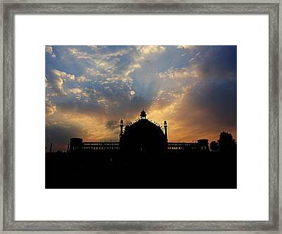 Sunrise At Rumi Gate Framed Print
