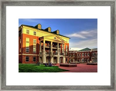 Sunrise At Western Carolina University Framed Print