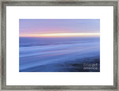 Sunrise Atlantic 2 Framed Print by Elena Elisseeva
