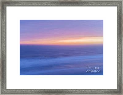 Sunrise Atlantic 4 Framed Print by Elena Elisseeva
