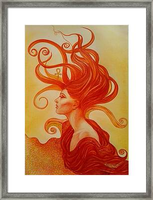 Sunrise Aton Framed Print
