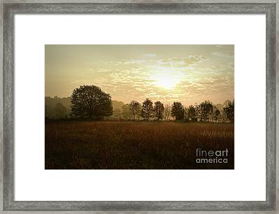 Sunrise Autumn Equinox 2017 Framed Print