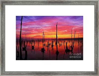 Sunrise Awaits Framed Print