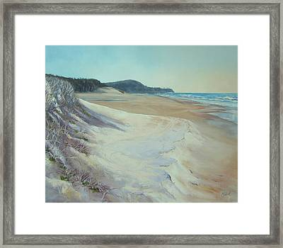 Sunrise Beach And Lions Head Noosa Heads Queensland Framed Print