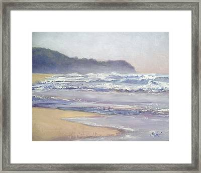 Sunrise Beach Sunshine Coast Queensland Australia Framed Print