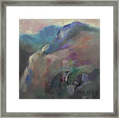 Sunrise Framed Print by Becky Kim