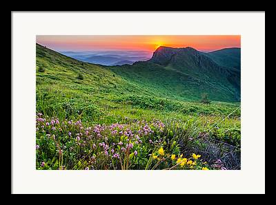 Balkan Mountains Framed Prints