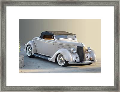Sunrise Cabrio Framed Print