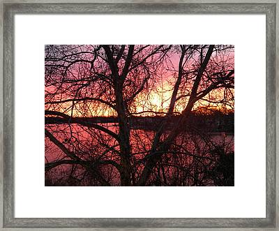 Sunrise Framed Print by Cassandra Donnelly