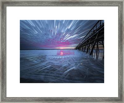 Sunrise Color Framed Print