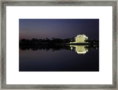 Sunrise Dc Framed Print