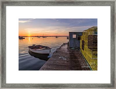 Sunrise From Erica's Framed Print by Benjamin Williamson