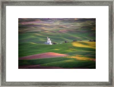 Sunrise From Steptoe Butte. Framed Print