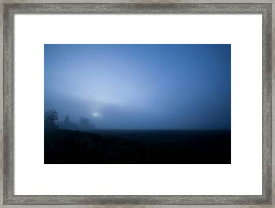 Sunrise Haunting Framed Print by Dan Chevalier