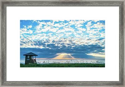 Sunrise Hope Delray Beach Florida Framed Print