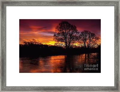 Framed Print featuring the photograph Sunrise II by Franziskus Pfleghart