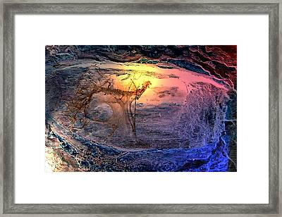 Sunrise In Another Place  Framed Print by Mark Lopez